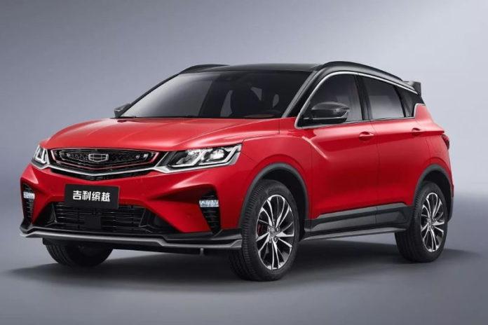 Китайские автопроизводители представили конкурента Киа Селтос - кроссовер Geely Coolray