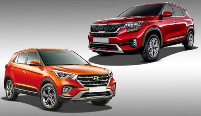Рекорды продаж: Kia Seltos выбирают чаще Hyundai Creta