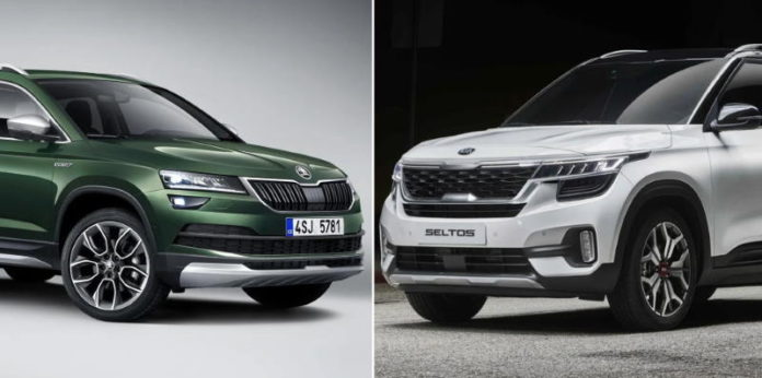 Шкода Karoq и Киа Seltos попали в число лучших автомобилей 20202 на российском рынке