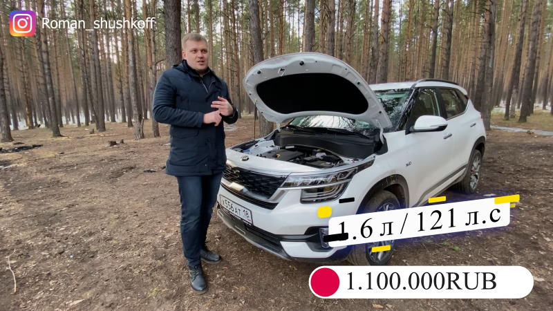 Обзор Киа Селтос на канале Романа Шушкова